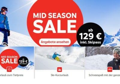 skiurlaub günstig